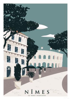 Affiche Nîmes