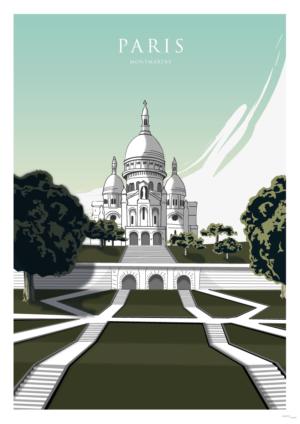 Affiche Paris-Montmartre
