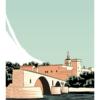 poster du pont d'Avignon