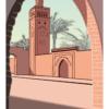 affiche casablanca maroc