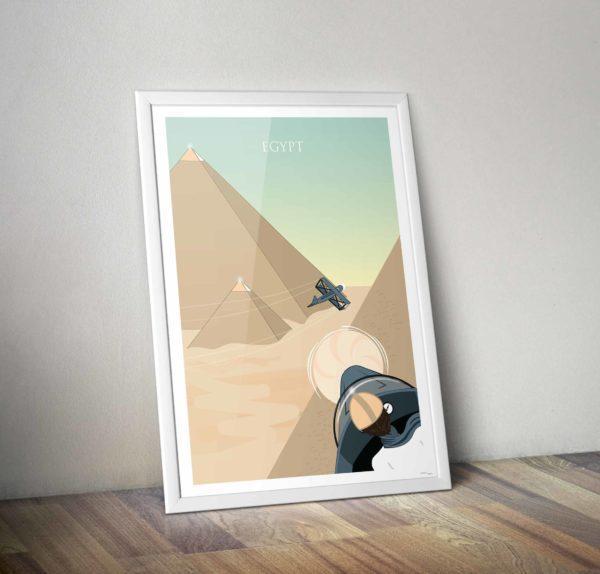 Poster égypte